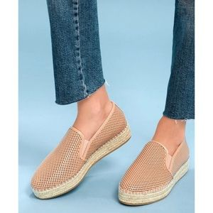 Steve Madden Wright Espadrilles in Natural